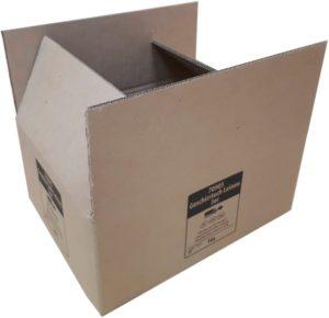 короб четырех-клапанный из 5-слойного картона с одноцветной печатью